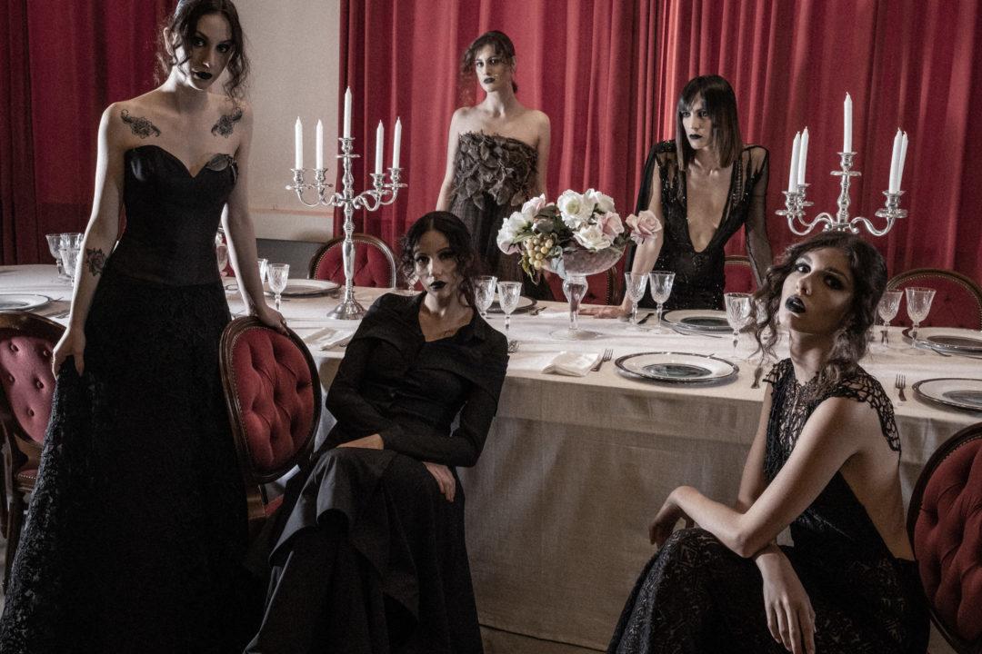 Barolo Fashion Show models editoriale fotografico moda